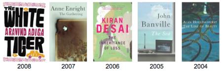 Booker Prize Samples